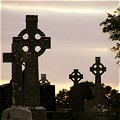 Graveyard near Beaufort in Kerry