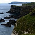 Dunluce Castle and coast, Antrim