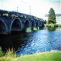 The bridge at Goresbridge in County Kilkenny