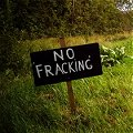 Sign in Leitrim saying No Fracking